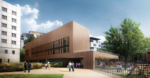 Ecole élémentaire Hoche à Grenoble (38)