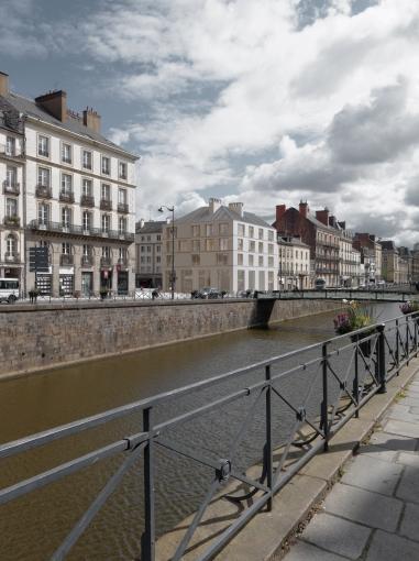 Construction d'un programme de 10 logements collectifs et commerces à Rennes (35)