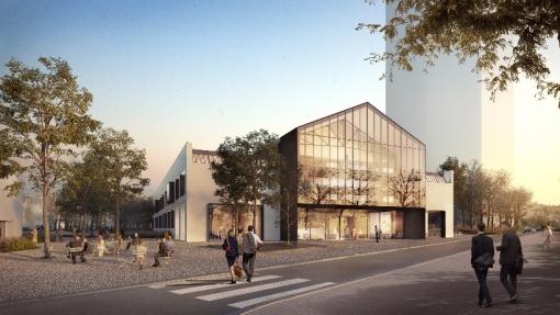 Réhabilitation de la Halle Caoutchouc, ZAC Lyon Confluence à Lyon (69)