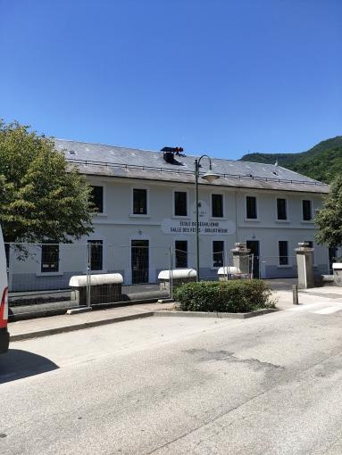 Réhabilitation & extension du groupe scolaire de Séchilienne (38)