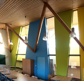 Ecole primaire à Veyrins-Thuellins (38)
