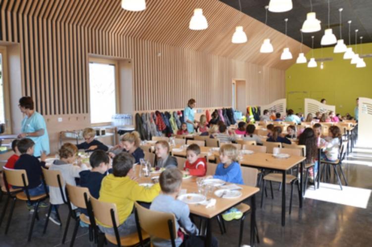 Restaurant scolaire au Grand Lemps (38)