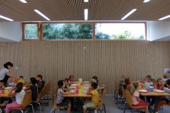 Restaurant scolaire à Rovon (38)