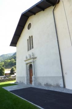 Eglise de Hauteville Gondon à Bourg Saint Maurice (73)