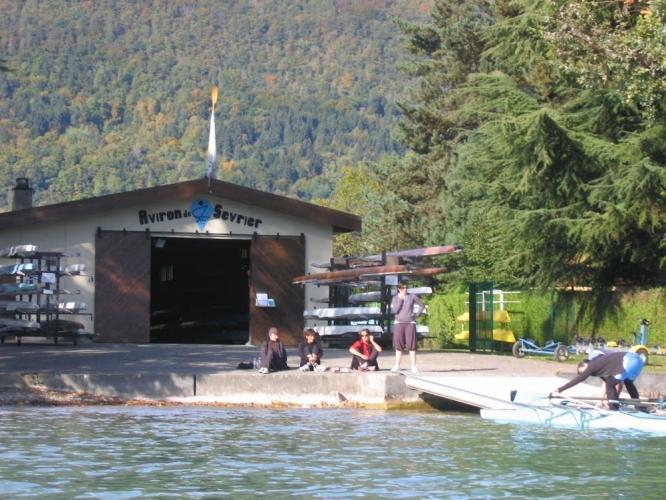 Base aviron à Sevrier (74)