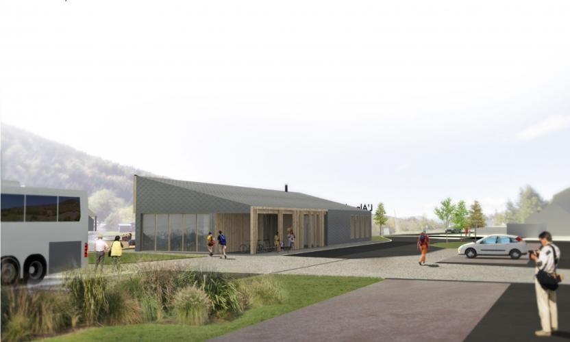 Valorisation & aménagement du secteur de la Plaine des jeux à vocation d'accueil et d'animation touristique  à La Morte (38)