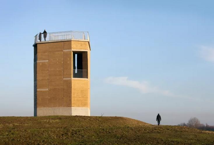 Tour d'observation à Negenoord (Belgique)