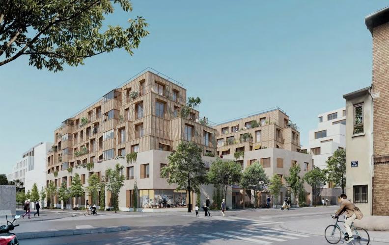 Construction d'un programme de 60 logements en accession, secteur Paul Meurice - Lot E1