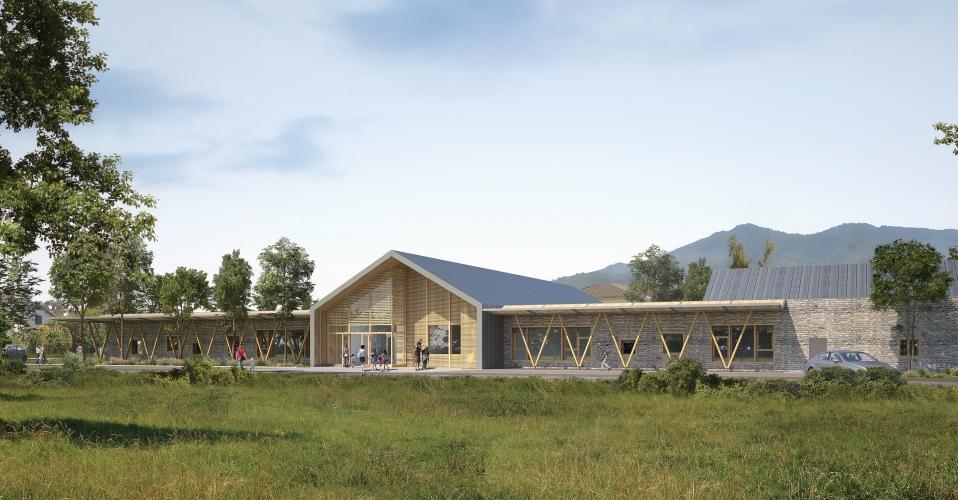 Groupe scolaire Pré Berguet à Nangy