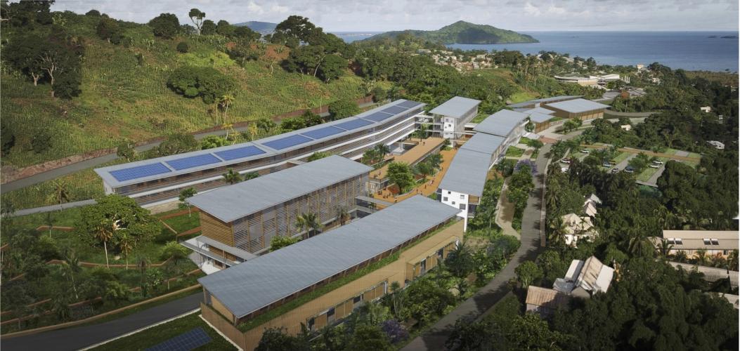 Construction d'un lycée polyvalent à Mamoudzou (Mayotte)