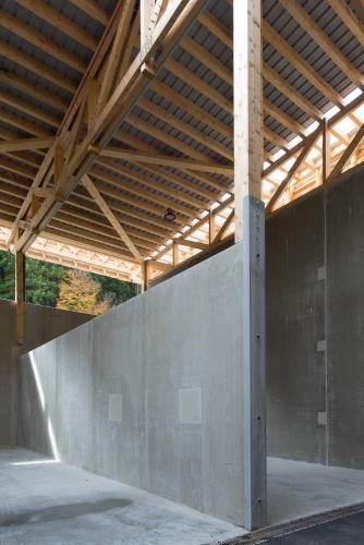 Quai de transfert des déchets & bâtiment technique à Villard-de-Lans (38)