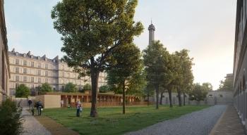 Construction d'une crèche de 24 berceaux au sein du Palais de l'Alma