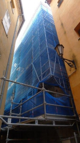 Réhabilitation d'un immeuble de logements en logements étudiants Ilot Nègre à Grasse (06)