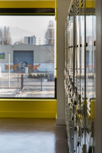 Centre technique d'exploitation Ouest à Fontaine (38)